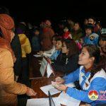 """""""Nhóm Đô Lương chia sẻ yêu thương"""" tổ chức đêm thiện nguyện giúp đỡ 2 gia đình có hoàn cảnh đặc biệt khó khăn trên 100 triệu đồng."""