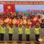 Xã Bồi Sơn tổ chức lễ công bố xã đạt chuẩn Nông thôn mới.