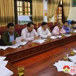 UBND huyện tổ chức giao ban khối văn hóa xã hội