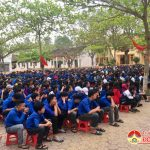 Trường THPT Đô Lương 2 tổ chức giao lưu ngày hội tri thức.