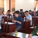 Đô Lương: Hội nghị chuẩn bị diễn tập khu vực phòng thủ huyện năm 2018.