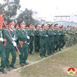 Đô Lương: Ra quân huấn luyện quân sự năm 2018