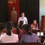 Chi hội trưởng phụ nữ tận tụy với công việc