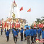 Kết nạp 250 đoàn viên tại tượng đài khởi nghĩa Đô Lương