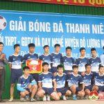 Đô Lương bế mạc giải bóng đá thanh niên khối THPT, GDTX  và dạy nghề năm 2018