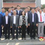 Đồng chí Trương Thị Mai – Ủy viên Bộ chính trị, Trưởng ban dân vận Trung ương dâng hương, dâng hoa tại di tích lịch sử Truông Bồn