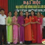 Đại hội Đại biểu Hội Nông dân xã Lưu Sơn