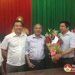 Huyện ủy, UBND huyện chúc mừng Trung tâm văn hóa 72 năm ngày thể thao Việt Nam