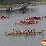 Đô Lương tổ chức lễ hội đua thuyền truyền thống ở Đền Quả Sơn