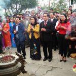 Xã Bài Sơn đón nhận bằng xếp hạng di tích lịch sử cấp tỉnh đền Yên Mỹ