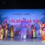 Đô Lương tổ chức đêm biểu diễn dân ca đền Quả Sơn