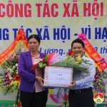 Sở lao động thương binh xã hội  kỷ niệm ngày  công tác xã hội Việt Nam.