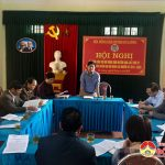 Hội nghị nguyên cán bộ Hội nông dân huyện Đô Lương qua các thời kỳ góp ý dự thảo báo cáo Đại hội khóa 12 nhiệm kỳ 2018- 2023