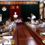 Thường trực HĐND huyện: Nghe thông báo giải quyết các vấn để cử tri quan tâm