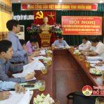 Ban thường vụ Huyện ủy duyệt nội dung tổ chức Đại hội Hội nông dân huyện nhiệm kỳ 2018- 2023