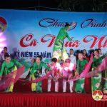 Đoàn ca múa dân tộc Nghệ An biểu diễn nghệ thuật chào mừng kỷ niệm 55 năm ngày thành lập huyện
