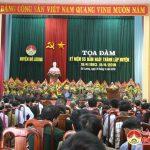 Huyện Đô Lương tọa đàm kỷ niệm 55 năm ngày thành lập.