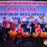 Đô Lương: Tổ chức Liên hoan tiếng hát Làng sen và Dân ca- Ví dặm  Nghệ tĩnh năm 2018.