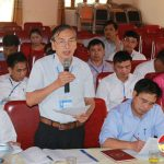 Thường trực Huyện ủy làm việc với Đảng ủy xã Lam Sơn