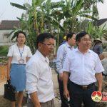 Đồng chí Ngọc Kim Nam – Bí thư, Chủ tịch UBND huyện kiểm tra tại 2 xã Lạc Sơn và Trung Sơn