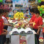 Trường Tiểu học xã Lưu Sơn tổ chức ngày hội sách – Hành trình tri thức năm học 2017 – 2018