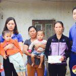 Nhóm Đô Lương chia sẻ yêu thương trao 16 triệu đồng cho 6 gia đình có hoàn cảnh đặc biệt khó khăn.