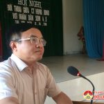Trù Sơn đối thoại giữa chủ tịch HĐND, UBND xã với nhân dân 2 xóm 4 và 5