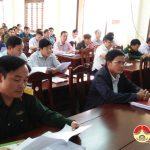 Đô Lương tổ chức hội nghị triển khai nhiệm vụ diễn tập khu vực phòng thủ huyện năm 2018
