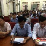 Hội liên hiệp các hội khoa học kĩ thuật và phòng GD&ĐT huyện Đô Lương tổ chức hội thảo tập huấn sáng tạo học và sáng tạo khoa học kĩ thuật.