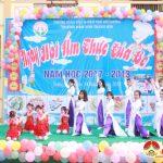 Trường mầm non Tràng Sơn tổ chức ngày hội ẩm thực của bé.