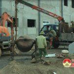 Công ty may Minh Anh đẩy nhanh tiến độ thi công nhà máy