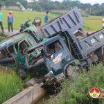 Xảy ra vụ tai nạn giao thông trên đường N5
