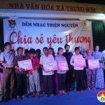 """Nhóm """" Đô Lương chia sẻ yêu thương"""" tổ chức đêm nhạc thiện nguyện giúp đỡ 5 gia đình có hoàn cảnh khó khăn"""