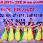 Liên hoan tiếng hát Làng sen và Dân ca – Ví dặm cụm 2 tại xã Tràng Sơn