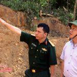 Đồng chí Ngọc Kim Nam – Bí thư huyện ủy – Chủ tịch UBND huyện kiểm tra công tác chuẩn bị diễn tập.