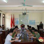 Bộ chỉ huy quân sự tỉnh kiểm tra công tác chuẩn bị khu vực phòng thủ  huyện Đô Lương