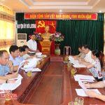 Ban chỉ đạo tỉnh Nghệ An: Kiểm tra kết quả thực hiện đề án số 01-ĐA/TU  tại Đô Lương.
