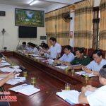 UBND huyện Đô Lương phiên họp thường kỳ tháng 5/2018