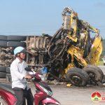 Đô Lương xảy ra vụ tai nạn giao thông nghiêm trọng