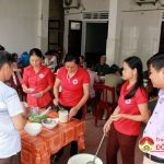 """Đô Lương: Hội nông dân huyện tổ chức chương trình """" Bát cháo tình thương."""