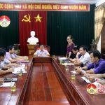 UBND huyện họp rút kinh nghiệm các hoạt động kỷ niệm 55 năm ngày thành lập huyện (19/4/1963- 19/4/2018)