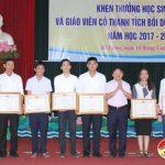 Đô Lương tuyên dương 127 học sinh giỏi và 118 giáo viên có nhiều thành tích xuất sắc trong bồi dưỡng học sinh giỏi