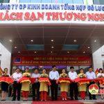 Công ty cổ phần kinh doanh tổng hợp Đô lương khánh thành khách sạn thương nghiệp 3 tại Thị xã Thái Hòa.