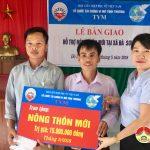 Qũy TYM Đô Lương hỗ trợ xóm 10 Đà Sơn xây dựng Nông thôn mới
