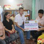 Công đoàn Công Prex Vinh trao 41 triệu đồng hỗ trợ cho đoàn viên bị bệnh hiểm nghèo