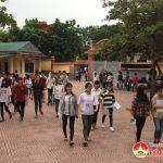 Đô Lương:  2221 thí  sinh bước vào ngày thi đầu tiên kỳ thi THPT Quốc gia năm 2018.