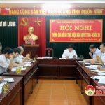 Huyện ủy thông qua đề án thực hiện NQTW6 Khóa XII