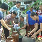 Hội Phụ nữ xã Thịnh Sơn ra mắt mô hình tổ hợp tác chế biến nước tương