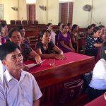 Hội phụ nữ Đô Lương tổ chức lớp học nghề gia công sản xuất mộc mỹ nghệ
