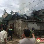 Cháy chuồng trâu ở Đặng Sơn- Đô Lương